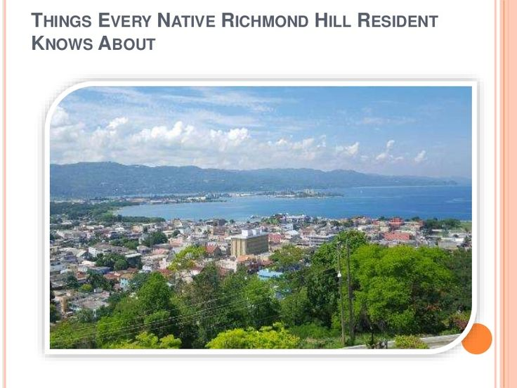 check out the presentation to know some special place that a Native Richmond Hill resident should know always. Visit now.