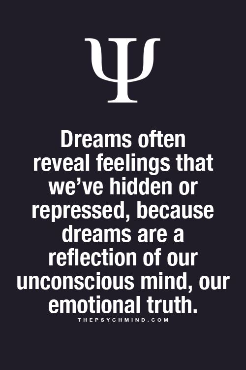 dreams are a reflection of our unconscious mind and emotional truth