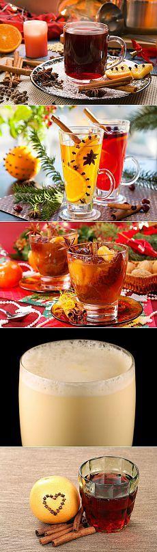 Горячительные напитки для морозного дня
