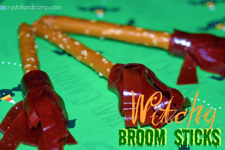 Witchy Broom Sticks for snack
