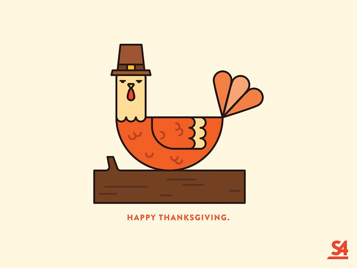 A little illustration to celebrate Thanksgiving.