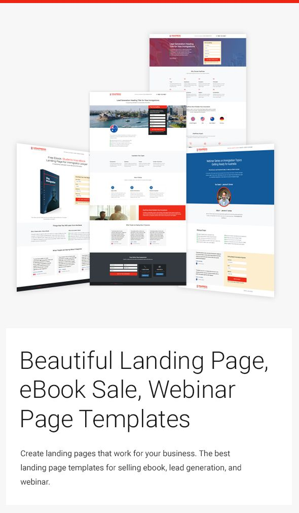 The Best Landing Page Design template | Bootstrap Responsive Website ...