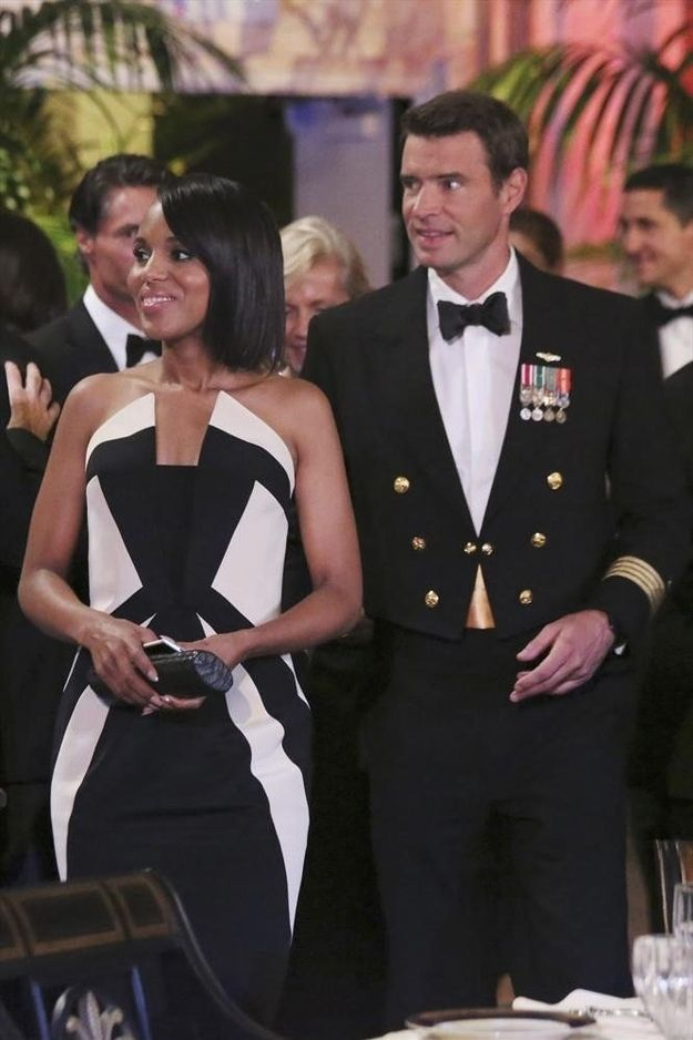 The gown that showed Olivia's strength. | Inside Olivia Pope's Closet