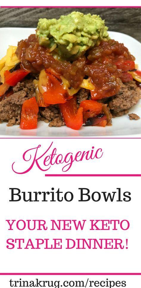 Easy Keto Recipe – Ketogenic Burrito Bowls! Taco Tuesday anyone? | Keto diet | K…