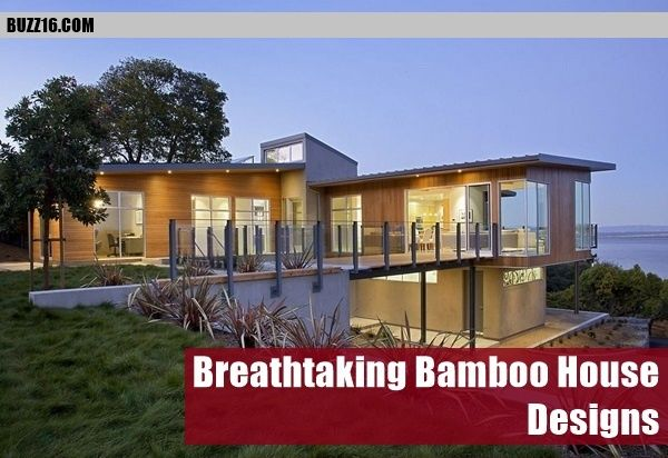 50 Breathtaking Bamboo House Designs   http://buzz16.com/breathtaking-bamboo-house-designs/