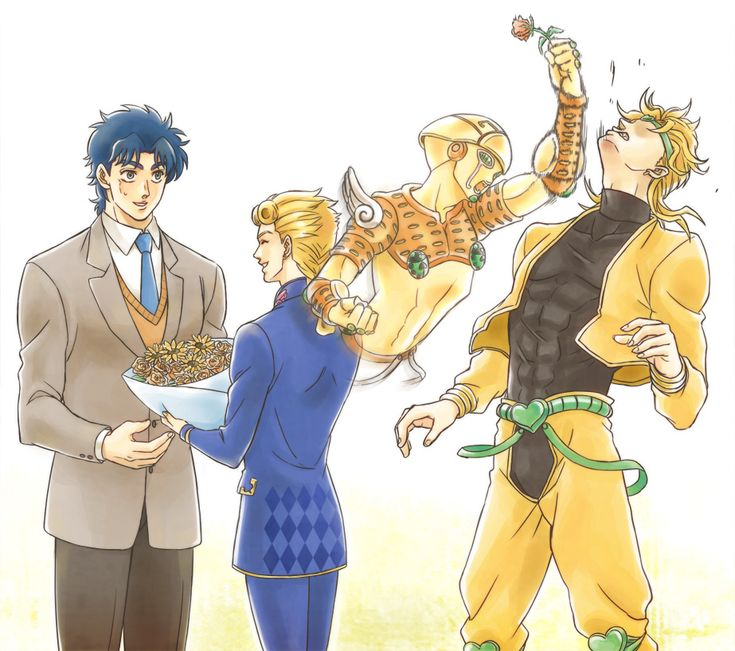 Father's day to the only guy who has 2 biological fathers. Giorno Giovanna Jonathan Joestar and Dio Brando. Jojo's Bizarre Adventure