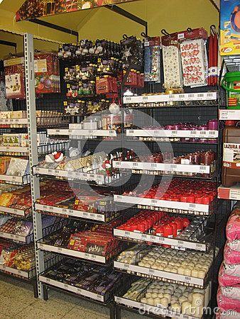 Christmas stuff store shelves season
