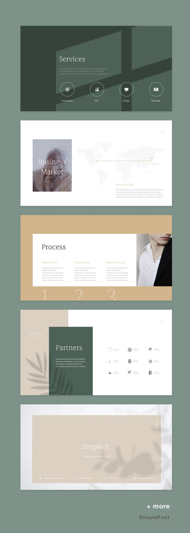 Simple solutions, GLORY Presentation PowerPoint Te…