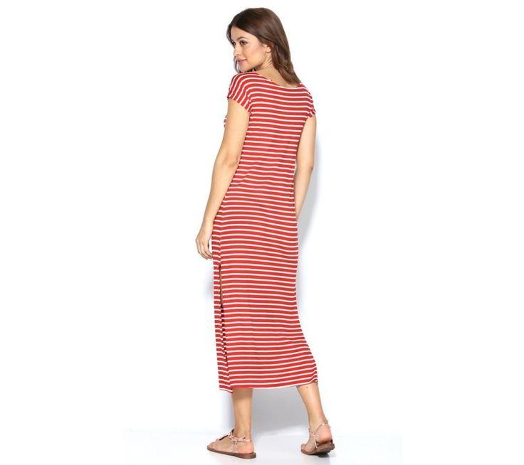 Dlhé šaty s prúžkami | modino.sk #ModinoSK #modino_sk #modino_style #style #fashion #summer #dress