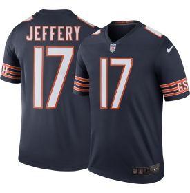Men's Color Rush 2016 Chicago Bears Alshon Jeffery #17 Legend Game Jersey