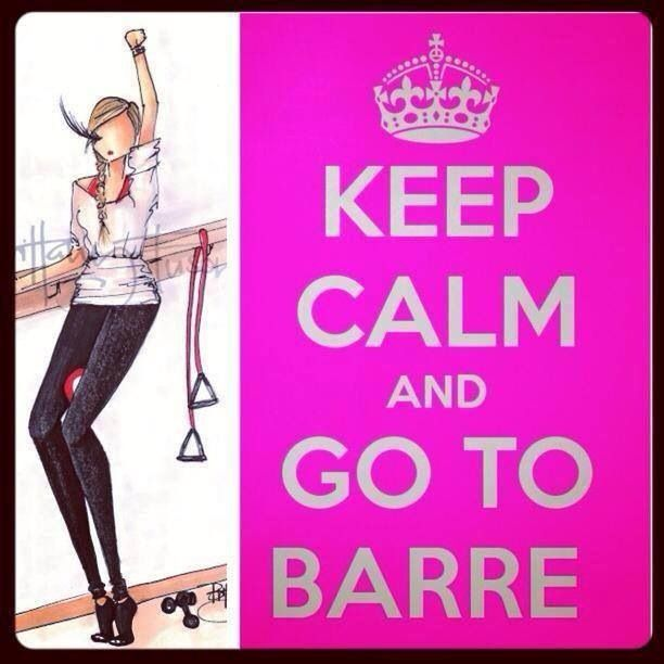 Monday Wednesday & Saturday you can find me at the BARRE!