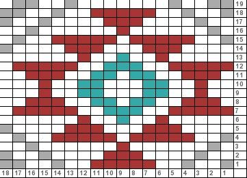 Navajo Fair Isle Chart