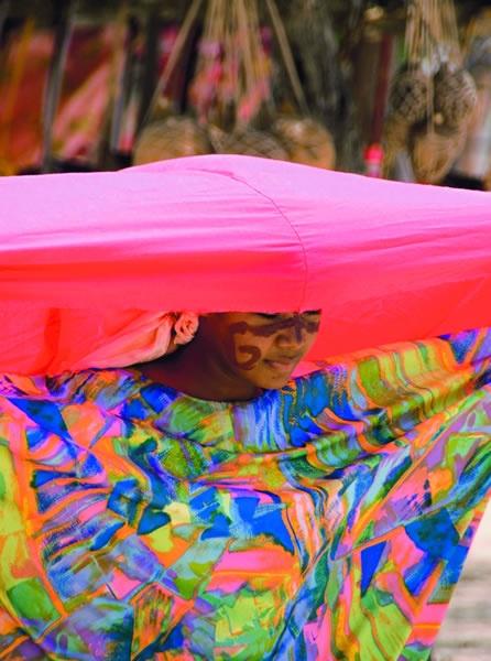 La Yonna, danza Wayúu, Cabo de la Vela, La Guajira.