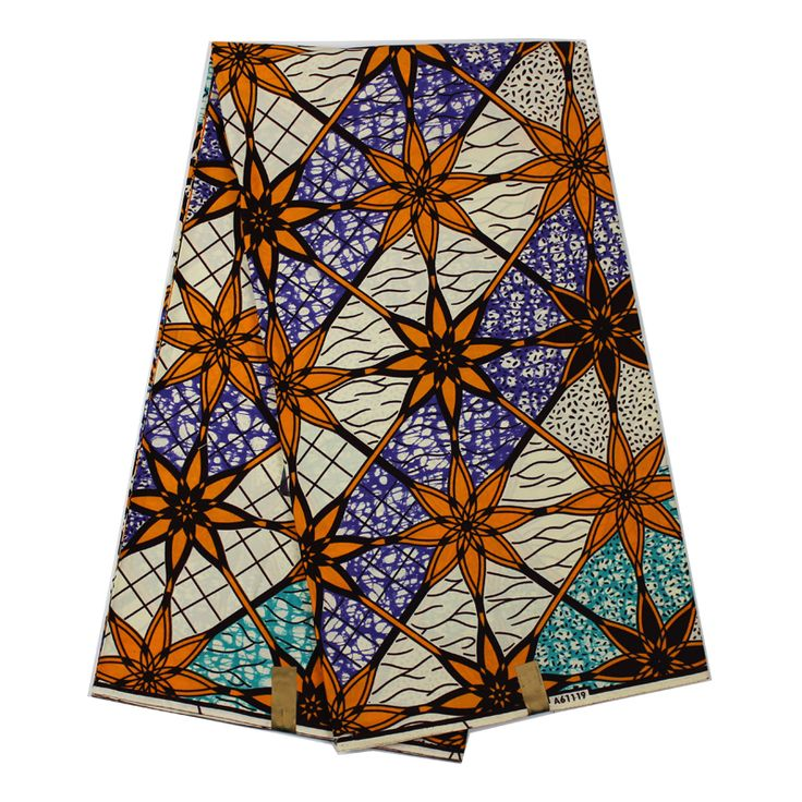 Guaranteed dutch wax African super wax Hollandais 100% Cotton Embroidered 6 Yards/lot super wax Hollandais for Clothes #Affiliate