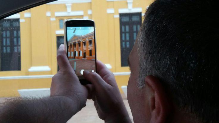 Barranquilla desde la cámara de un turista