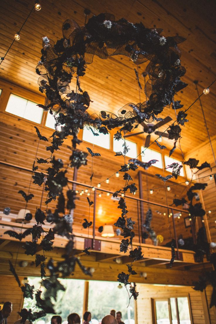 36 best halloween wedding images on pinterest halloween crafts halloween wedding halloween diy halloween decorations photos by rob kristen photography wedding chandelier aloadofball Images