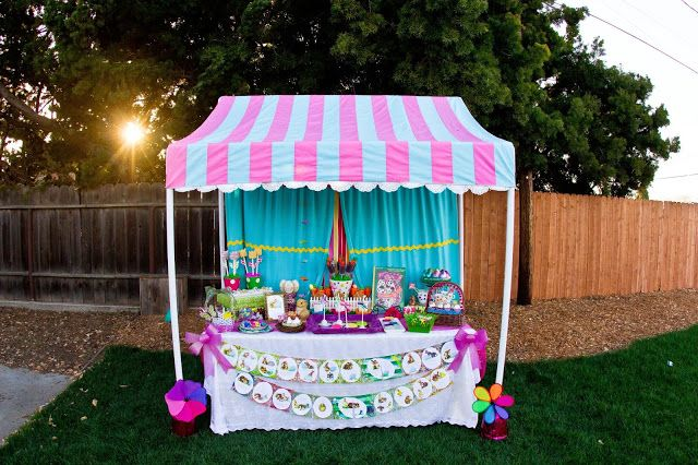 { Miss Party Mom's } How-To PVC Canopy Tutorial Step by step including canopy instructions.