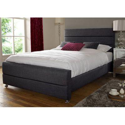 25 best upholstered bed frame ideas on pinterest grey upholstered bed grey upholstered headboards and tufted bed