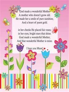 Mother's Day Poems - whatsinthebible.com