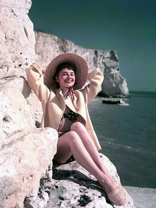 Audrey Hepburn looking gorgeous as usual! #pintowin #anthropologie
