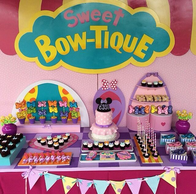 Minnie Bowtique party!