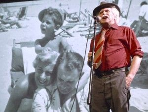 "Songs and Stories of Davy the Punk by Bob Bossin at UnoFest 2014.  ""just one more, please tell us one more"""