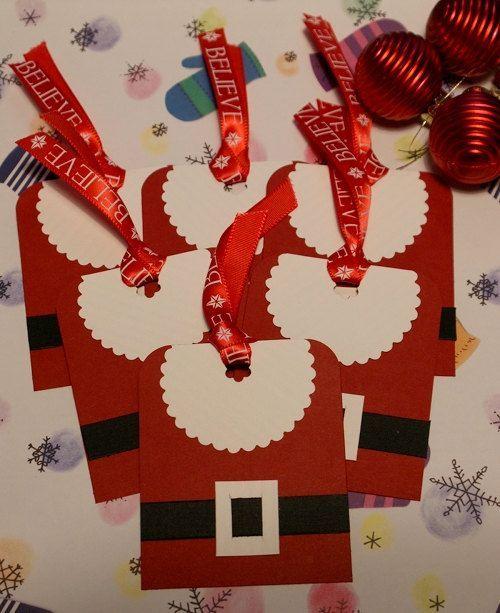 Santa Belt tags:
