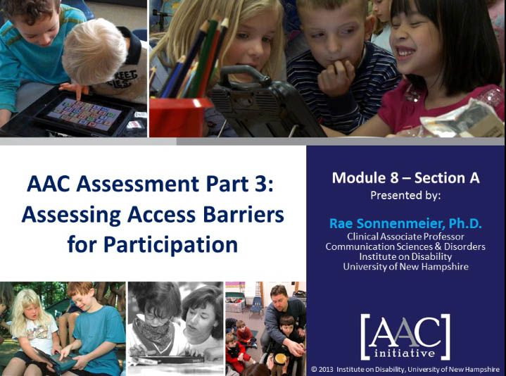 Video of the Week: Assessing Barriers to Access for AAC Learners