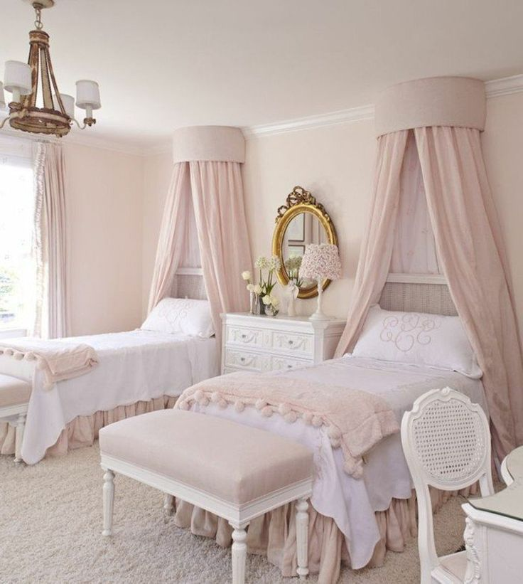 33 Sweet Shabby Chic Bedroom Décor Ideas: Best 25+ Twin Girls Rooms Ideas On Pinterest