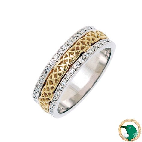 Liberty Celtic Ring Meaning: Represents self-determination, giving independence and freedom.