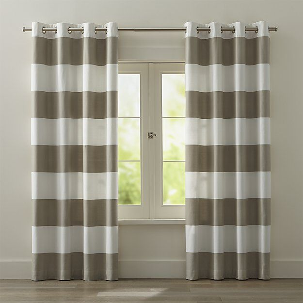 The 25+ best Grey striped curtains ideas on Pinterest   Stripe ...