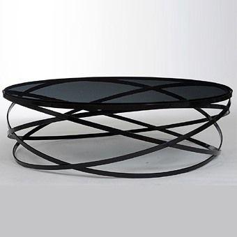 Mesa de café Evol do designer de Cédric Ragot.