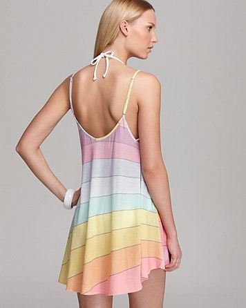 6a883eaf92 WILDFOX Vintage Rainbow Swimsuit Cover Up | Bloomingdale's | My Style | Rainbow  swimsuit, Swimsuit cover, Swimsuits