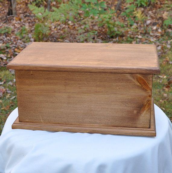 Pine Baby Memory Box Keepsake Box Baby by threekittensknitting, $68.00