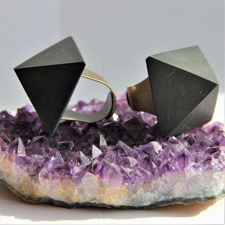 Buy shungite rings - Karelian Heritage Jewelry $14.99
