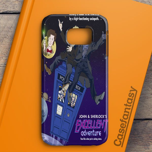 Tardis Sherlock John Samsung Galaxy S6 Edge Case | casefantasy