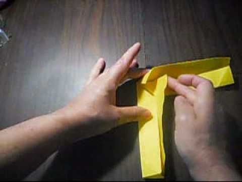 How To Make a boomerang With Paper.