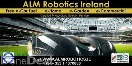 Robot Lawn Mower Deals From AutoLawnMow, Co Kerry. Two Years Warranty on all robotic garden lawn mowers. Serving the Irish market since 2004. Call AutoLawnMow today or visit our website.  http://www.robotlawnmowers.ie