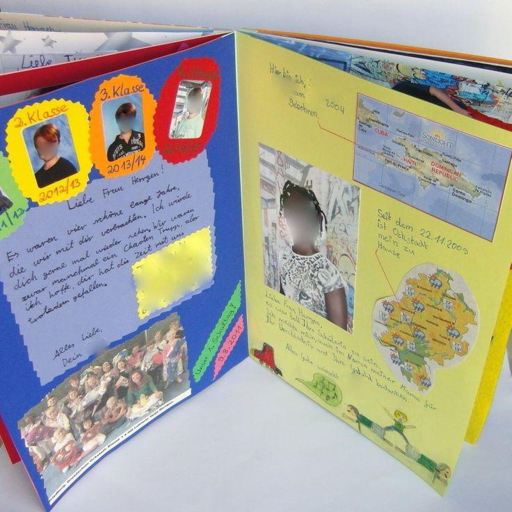 Abschiedsbuch f r die klassenlehrerin meines ltesten for Geschenk fur ruhestand