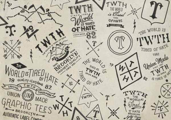 Hand-lettering - TWTH by BMD Design by BMD Design , via Behance