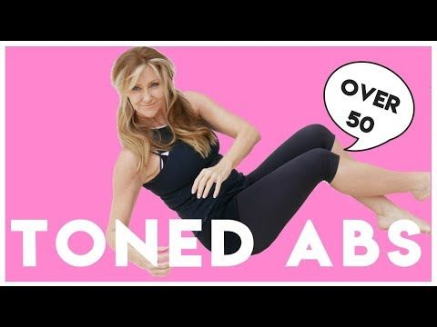 5 min toned ab workout for women over 50  why we need to
