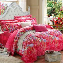 2015 New Hot venda casa de luxo cama conjunto 4 pcs roupas de cama roupa de cama para rainha / rei Quilt / capa de edredão de veludo(China (Mainland))