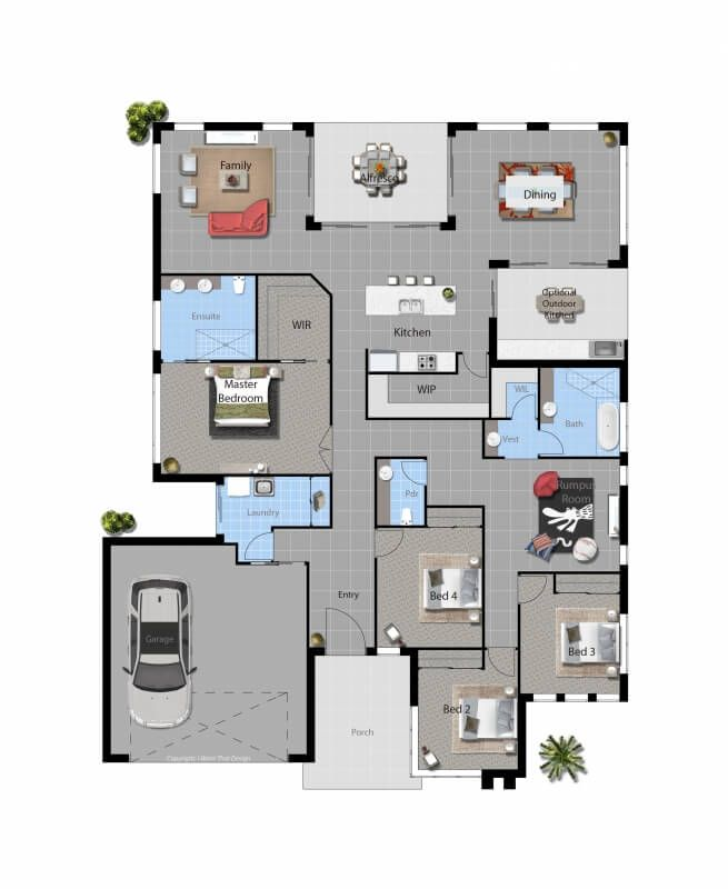 Barcoo All Star Range 4 Number Of Bedrooms 2 Number Of Bathrooms 281.18 M2  · New House ...
