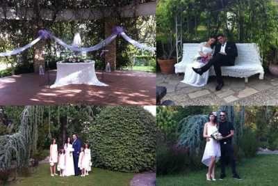 Πολιτικοί Γάμοι στο Βοτανικό Κήπο Σταυρούπολης του Δήμου Παύλου Μελά. Βοτανικός Κήπος Σταυρούπολης γαμήλιες τελετές