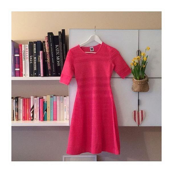 #MMissoni   Pink Prom Dress   Online Exclusive   #MOSTWANTEDDRESS   Spring 15   Interpreted by Elena Braghieri