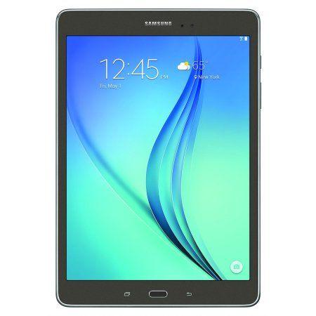 "Refurbished Samsung Galaxy Tab A 9.7"" 16GB Smoky Titanium Wi-Fi SM-T550NZAAXAR"