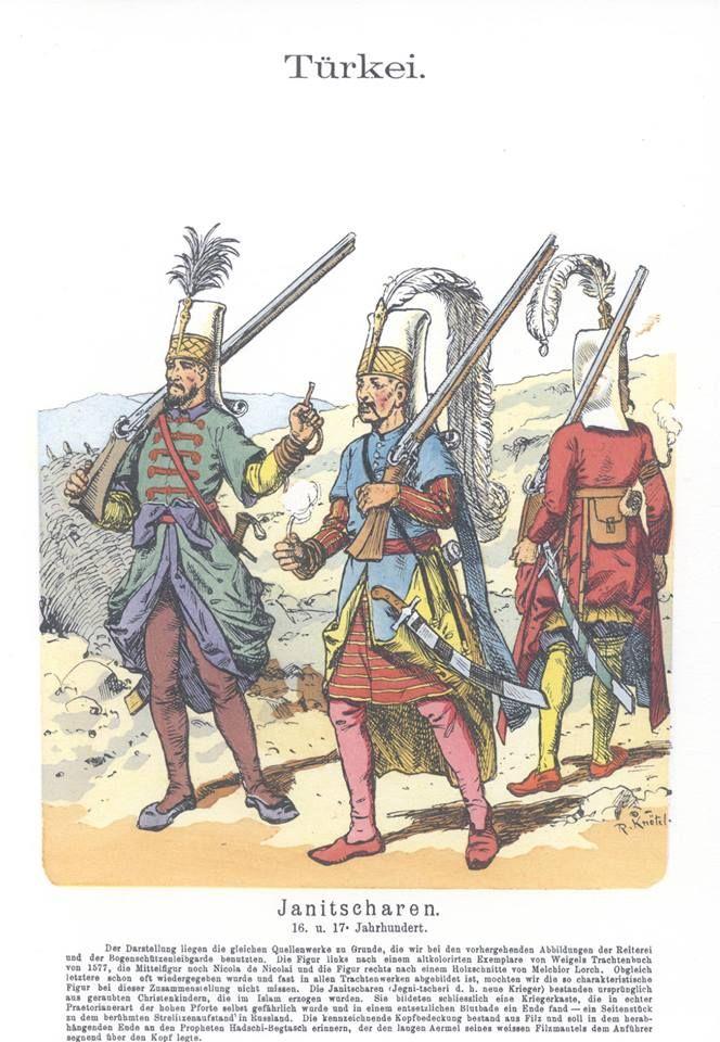 Band XII #48.- Türkei. 16. und 17.Jahrhundert. Janitscharen.