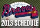 2013 Regular Season Schedule