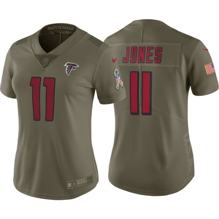 ... Nike Womens Home Limited Salute to Service 2017 Atlanta Julio Jones 11  Jersey abf139c7c