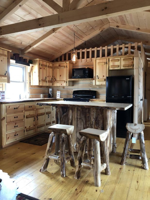 Tiny House Log Cabin Tour